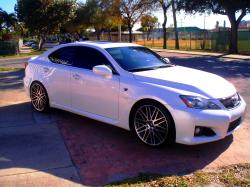 ursisterismine 2008 Lexus IS F