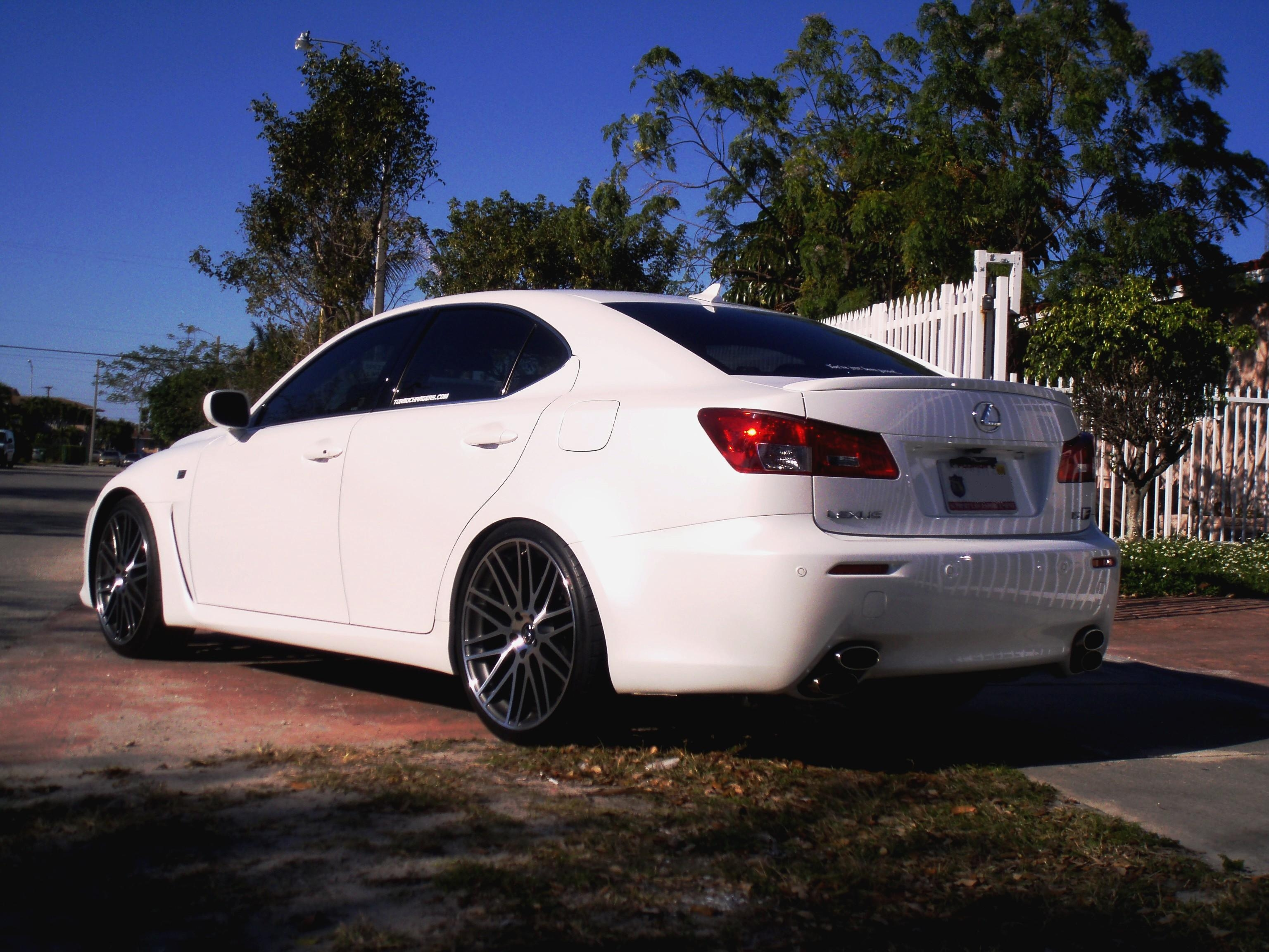 ursisterismine 2008 Lexus IS F 14283786