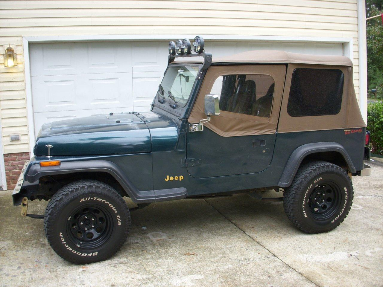 sinedeviance 1995 jeep wranglerse sport utility 2d specs, photos