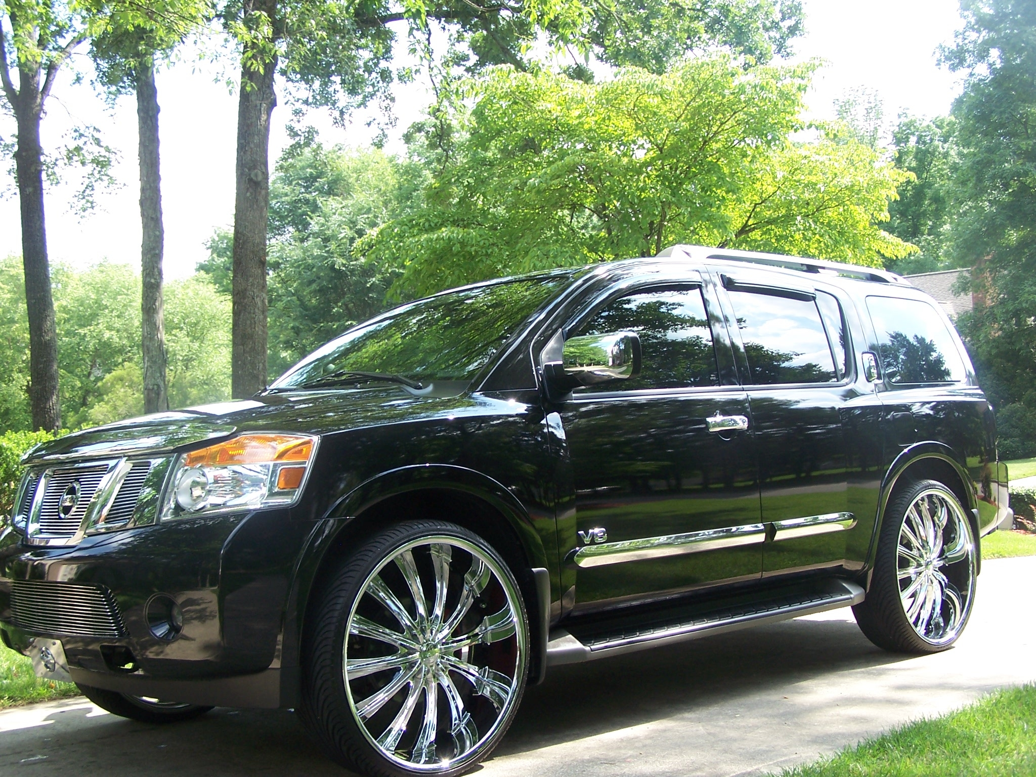Barrino 2010 Nissan Pathfinder Armada Specs Photos Modification