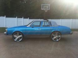 72 Cutlass on 26s http://www.cardomain.com/ride/3840361/2012-oldsmobile-cutlass/