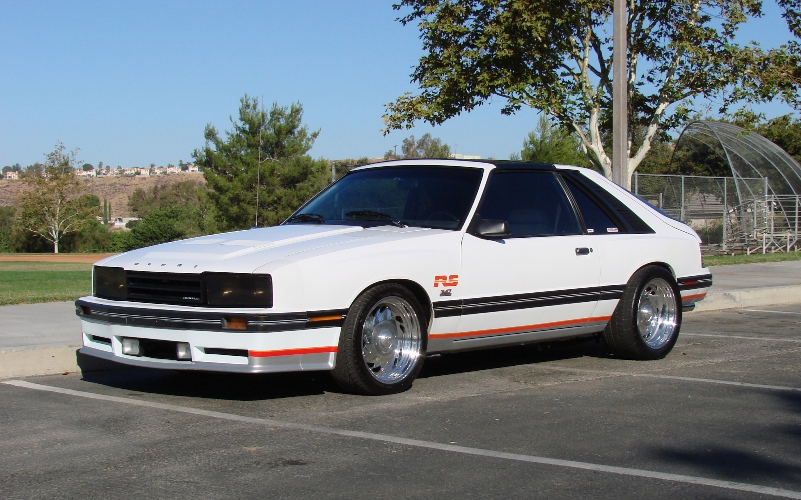 rawright 1984 Mercury Capri 18727818