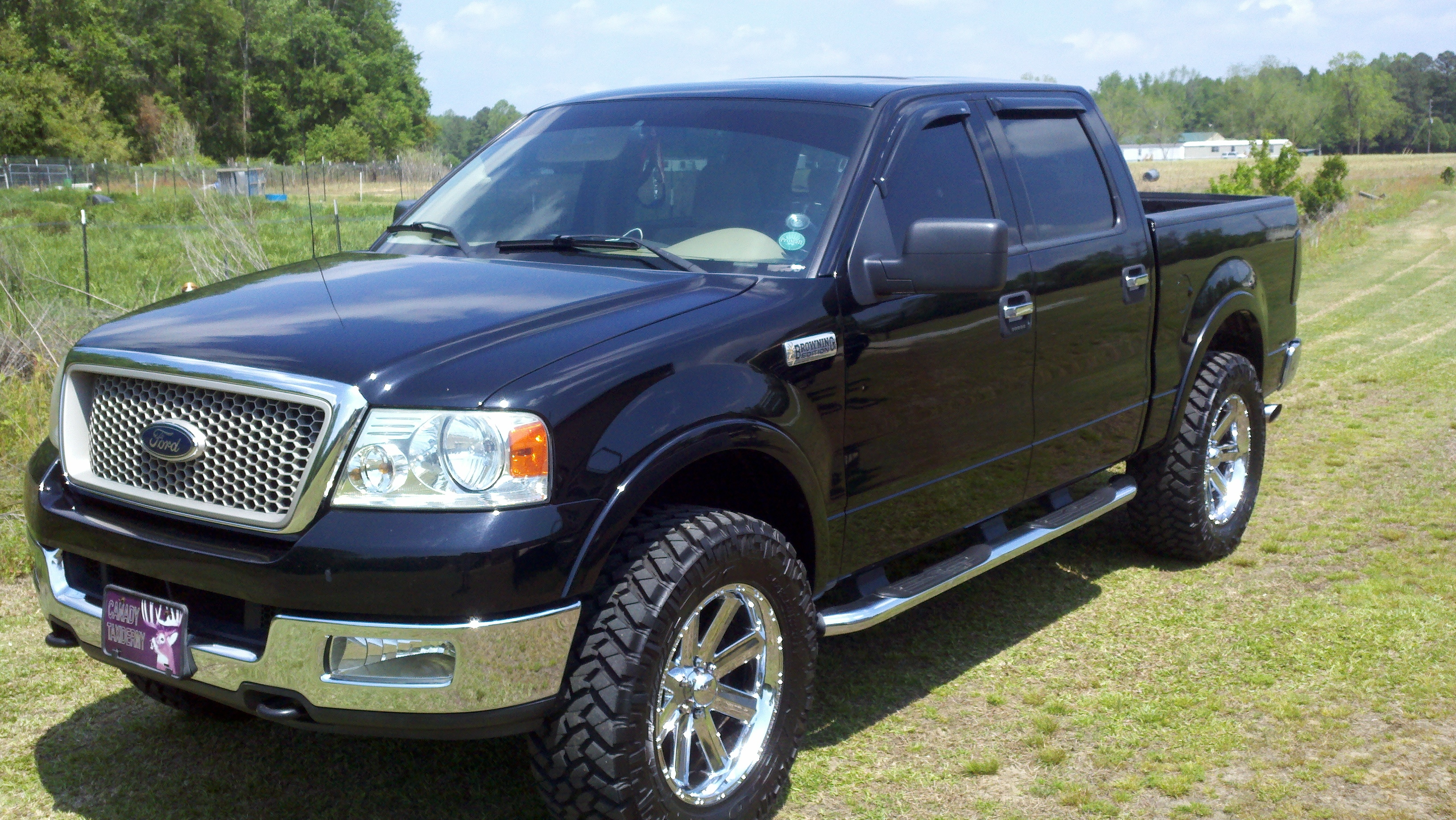 ikecan22 2004 ford f150 supercrew cab specs photos modification info at cardomain. Black Bedroom Furniture Sets. Home Design Ideas