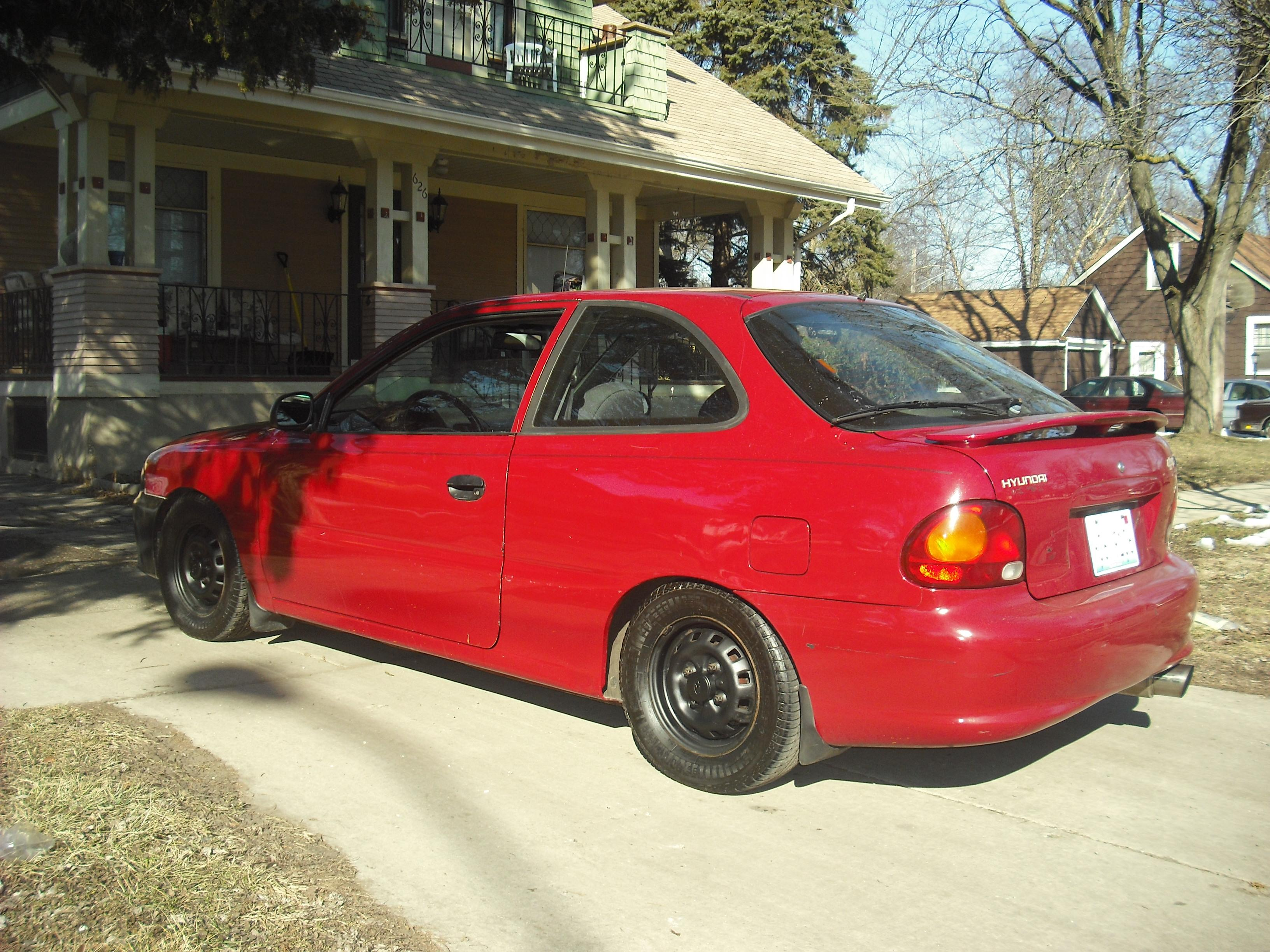 Coke21 1997 hyundai accent
