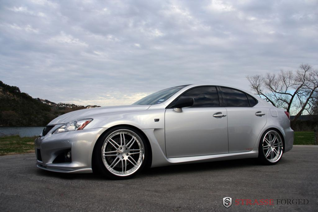 strasse forged 2008 lexus is f specs photos modification. Black Bedroom Furniture Sets. Home Design Ideas