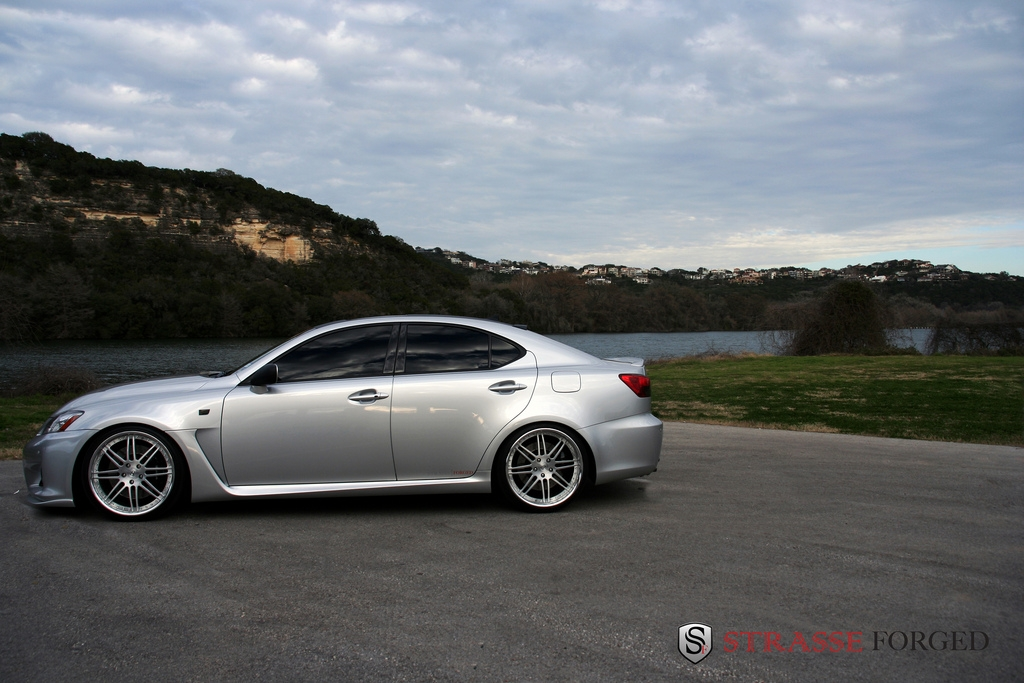 Strasse_Forged 2008 Lexus IS F 14300944