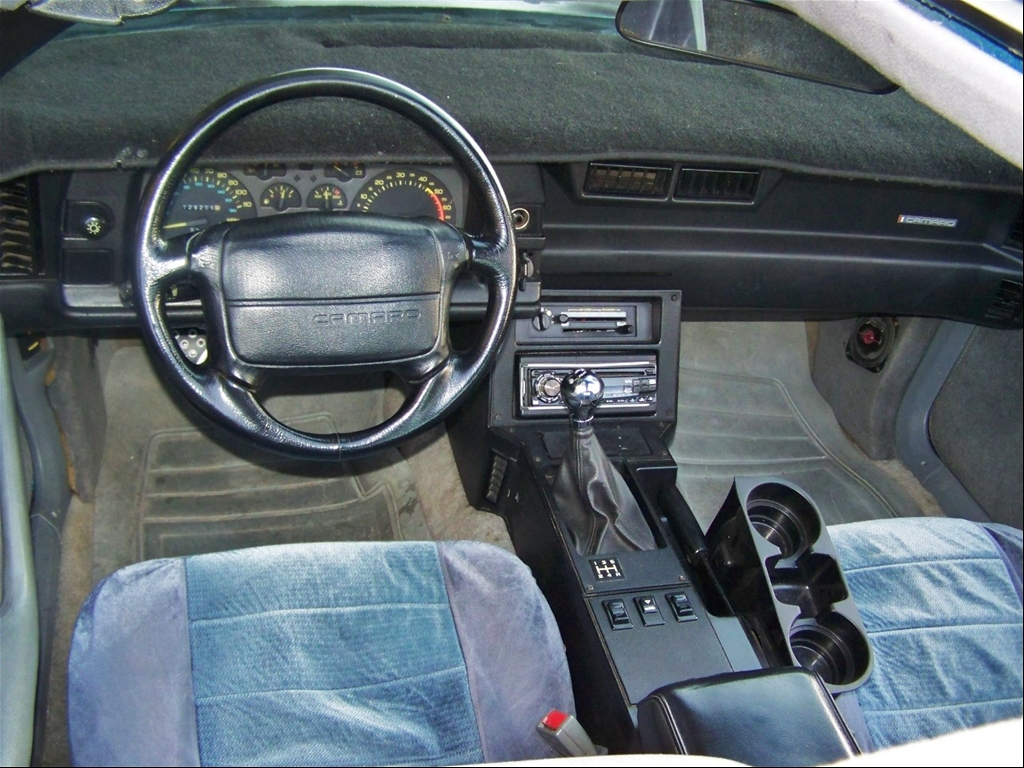 Confusion 1990 1992 Z28 S Came Std W Leather Steering Wheel Third Generation F Body