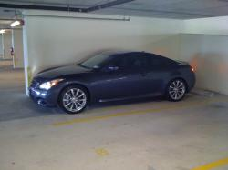 matteblackg37ss 2009 Infiniti G