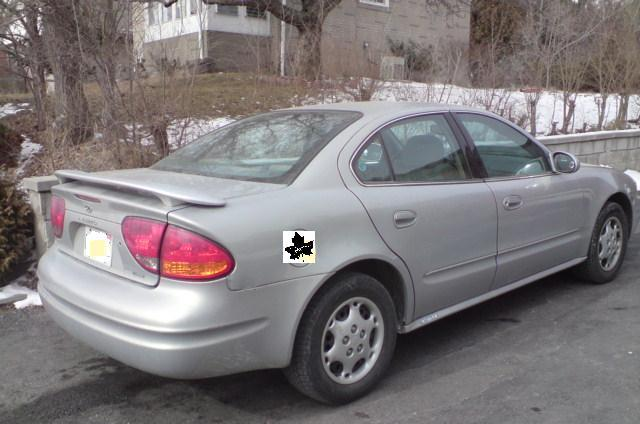 2000 Oldsmobile Alero Gls Coupe. GX and GL models used a