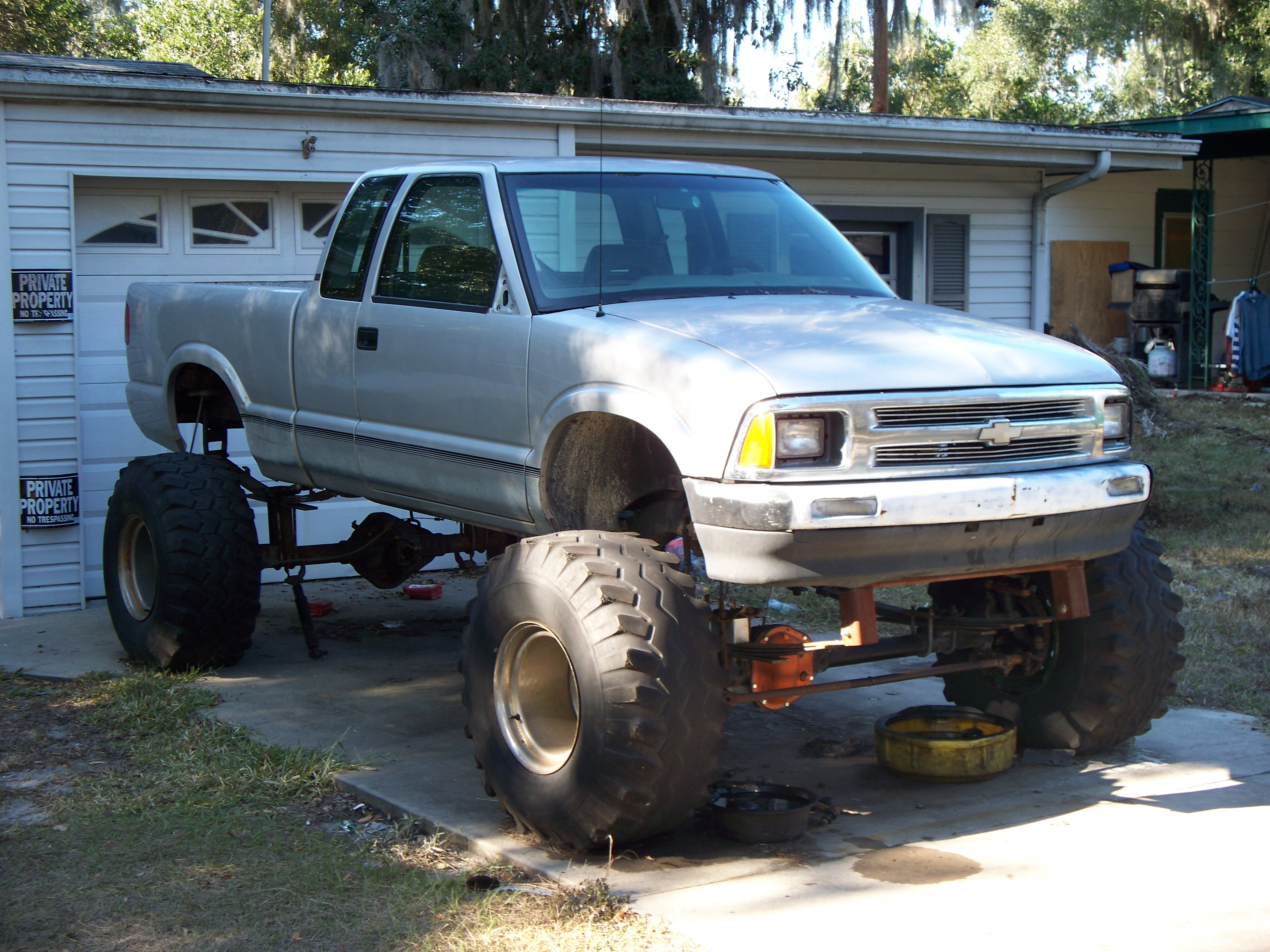 outlawed 1995 Chevrolet S10 Extended Cab 14314981
