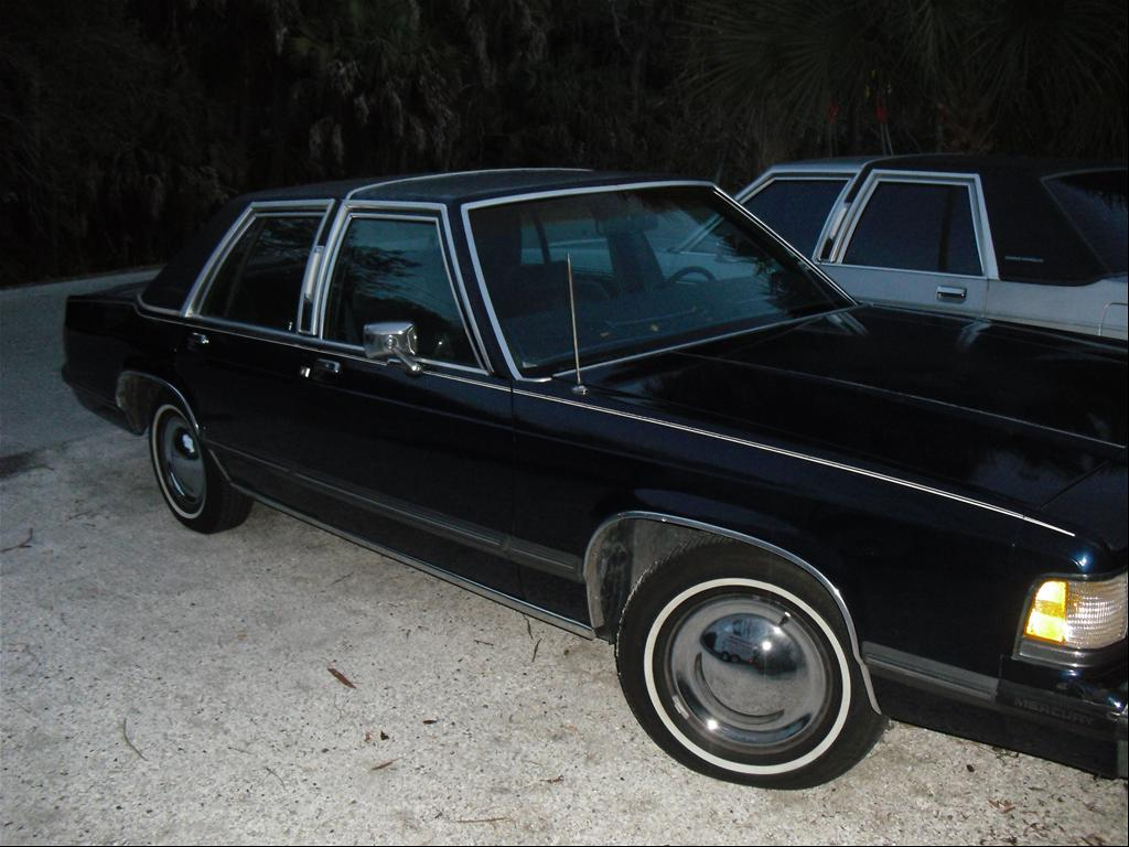 babymoon 39 s 1989 mercury grand marquis in sarasota fl. Black Bedroom Furniture Sets. Home Design Ideas