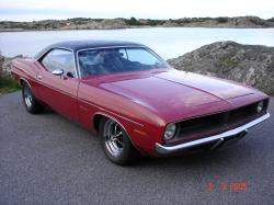 kjappens 1970 Plymouth Barracuda