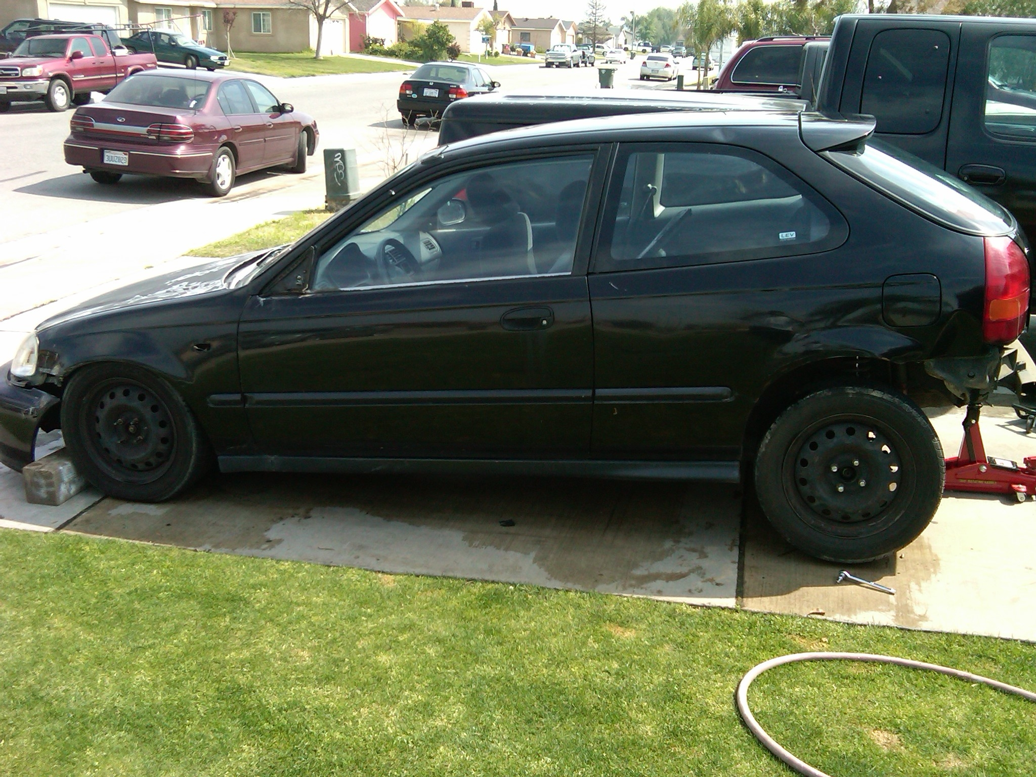 ek9 39 s 1998 honda civic dx hatchback 2d in bakersfield ca. Black Bedroom Furniture Sets. Home Design Ideas