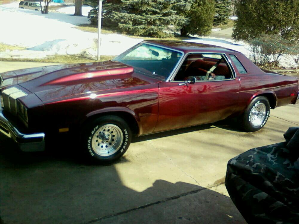 Pascuzzicutty76 39 s 1976 oldsmobile cutlass supreme in mpls mn for 1976 cutlass salon for sale
