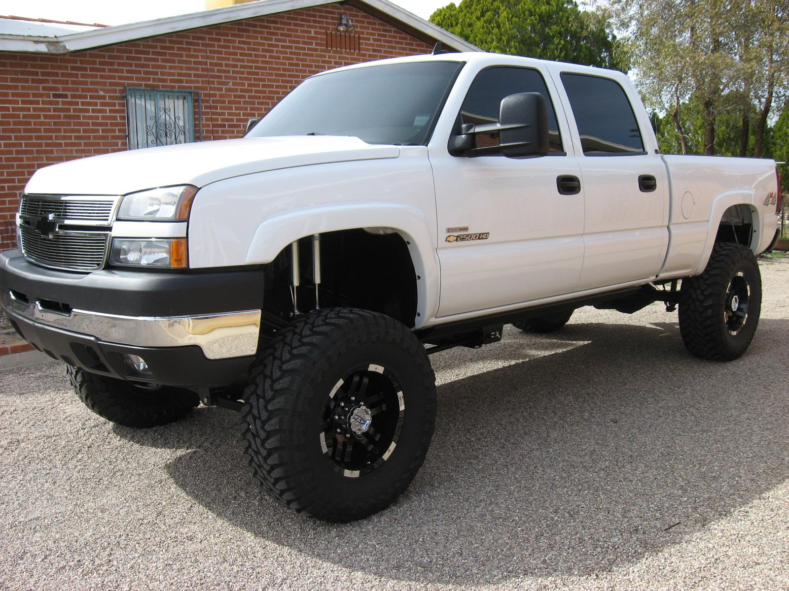 blowupyourcar 2007 chevrolet silverado 2500 hd crew cab. Black Bedroom Furniture Sets. Home Design Ideas