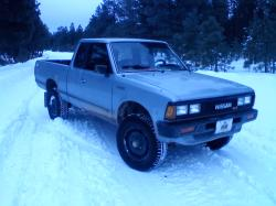 Mcsnpr007s 1985 Nissan 720 Pick-Up