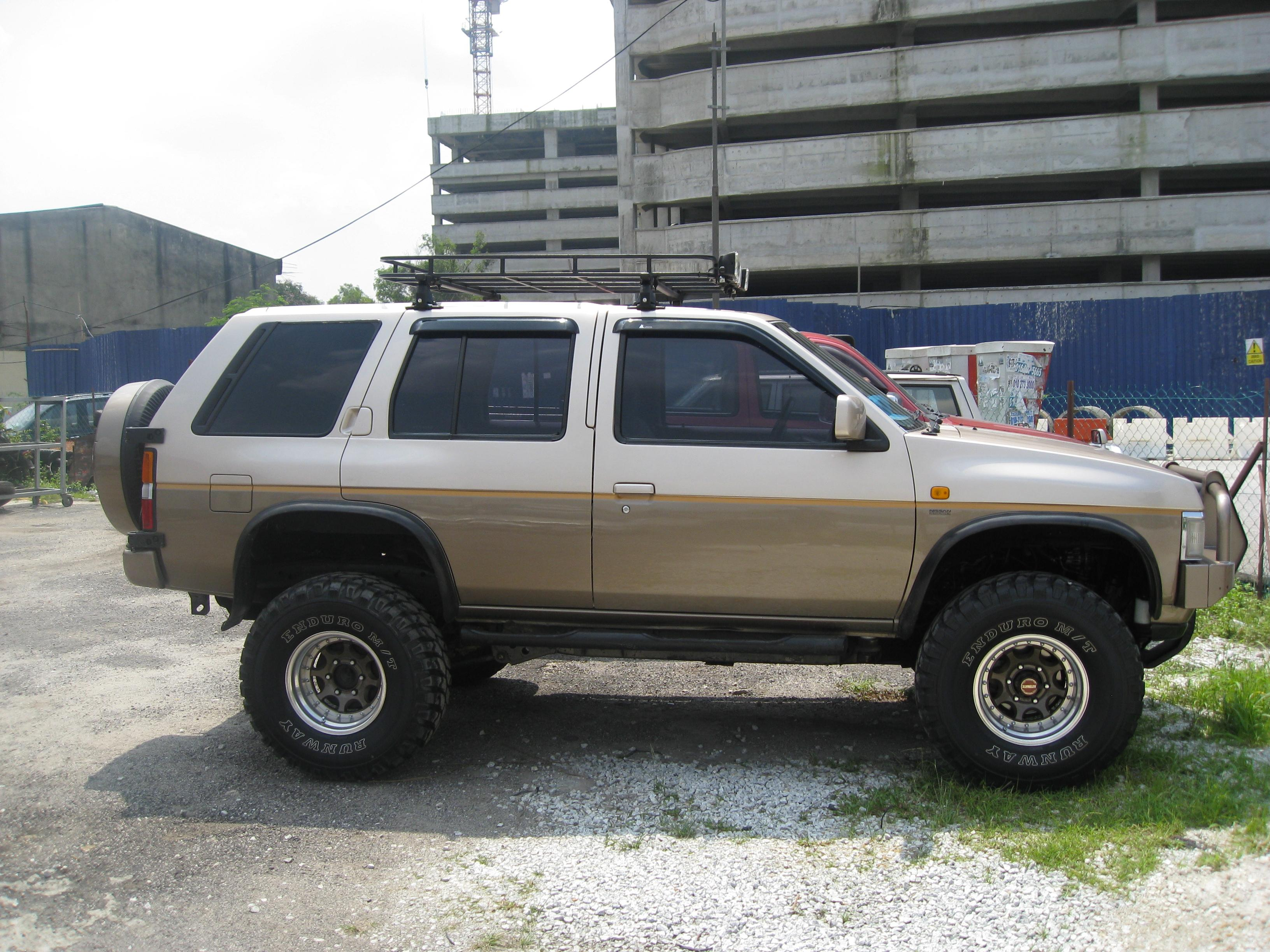 jeff 1997 nissan terrano specs photos modification info at cardomain. Black Bedroom Furniture Sets. Home Design Ideas
