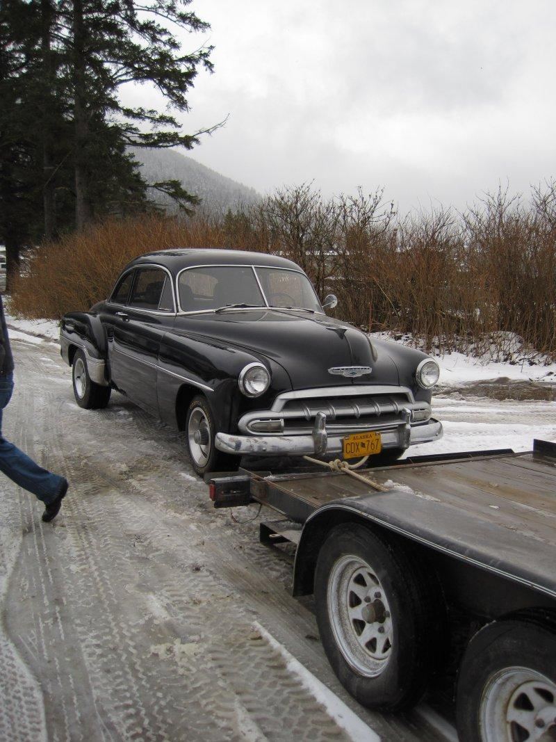 sold a '52 Chevy coupe.