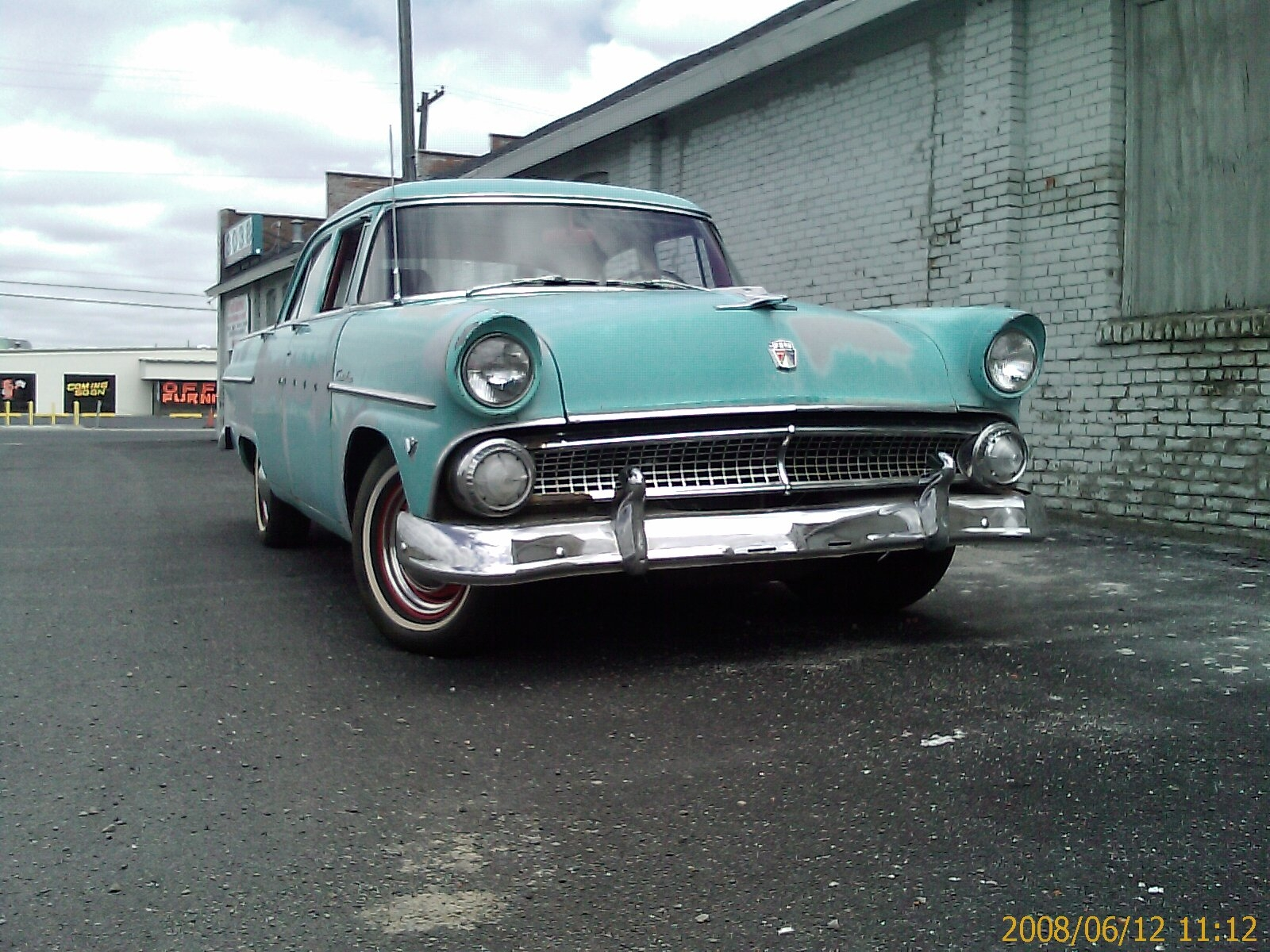 Meanp72 1955 Ford Customline Specs Photos Modification Info At Wiring Diagram 1953 Tudor 38447730001 Original