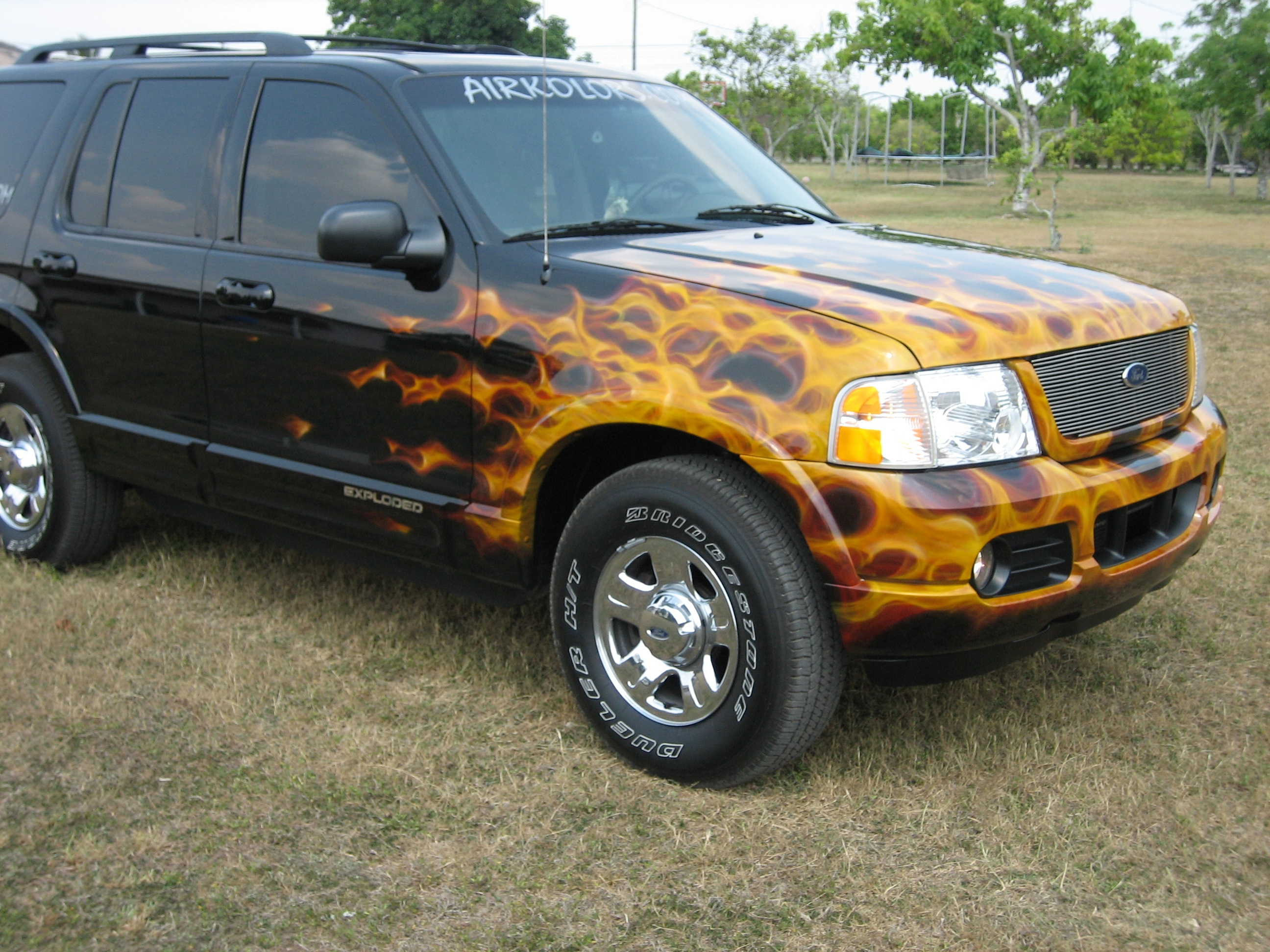 airkolors 2002 Ford Explorer 14339343