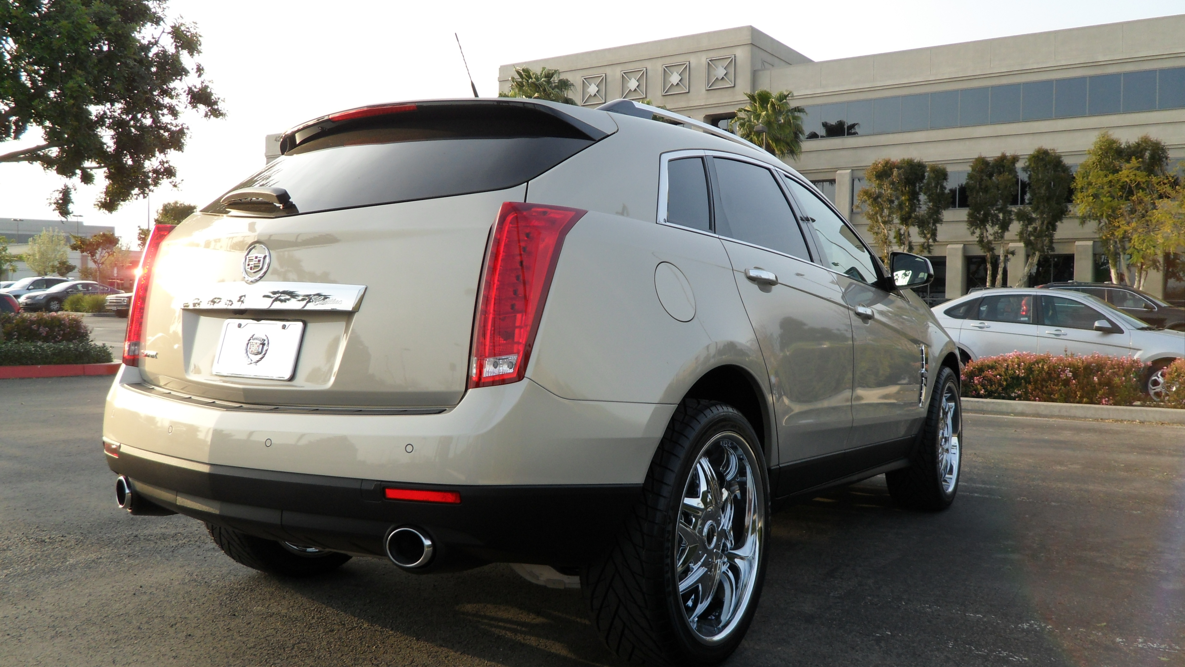srx the review turbo cadillac img
