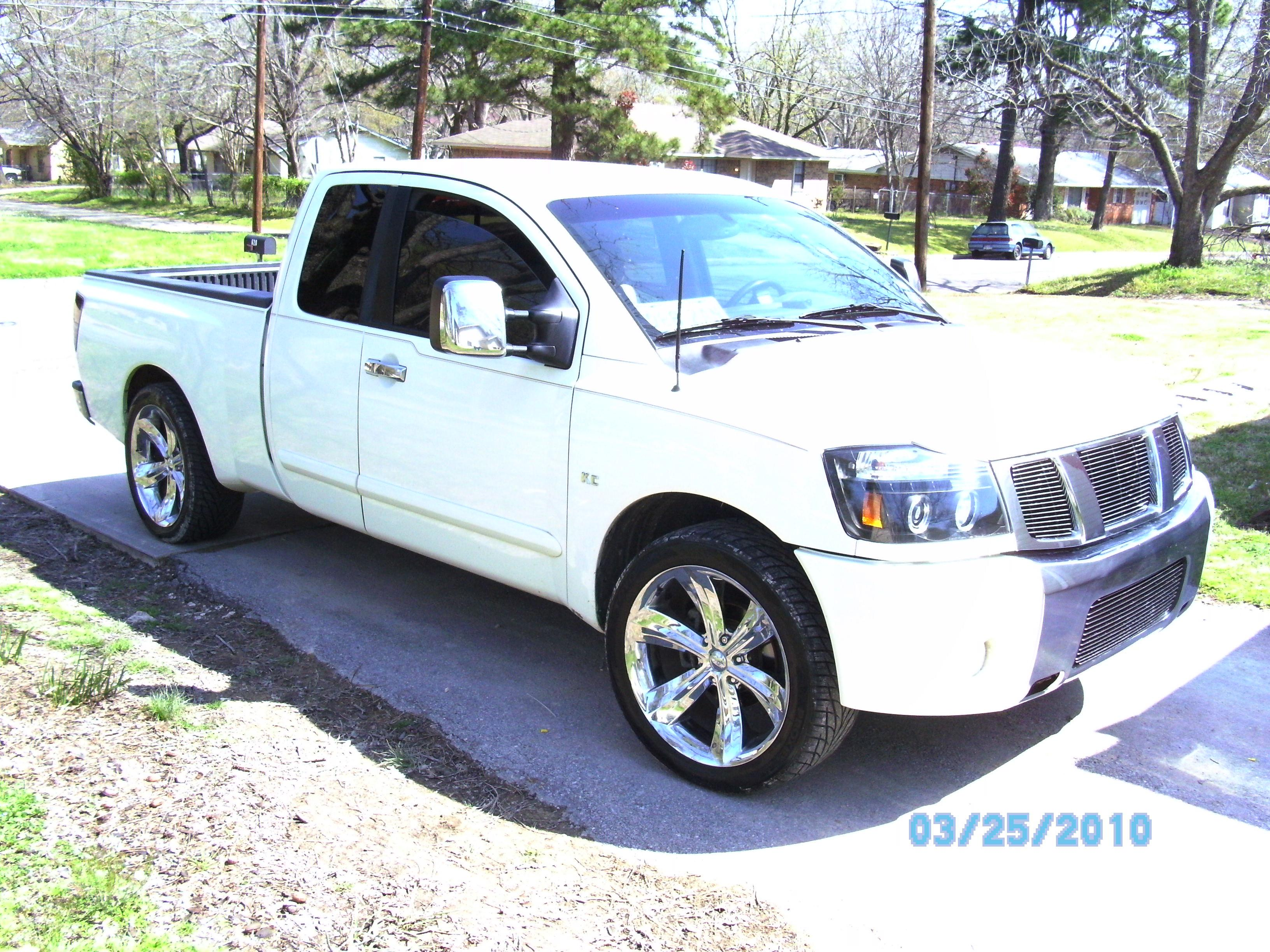 kolbyclayton 2004 nissan titan king cabse pickup 4d 6 1 2 ft specs photos modification info at. Black Bedroom Furniture Sets. Home Design Ideas