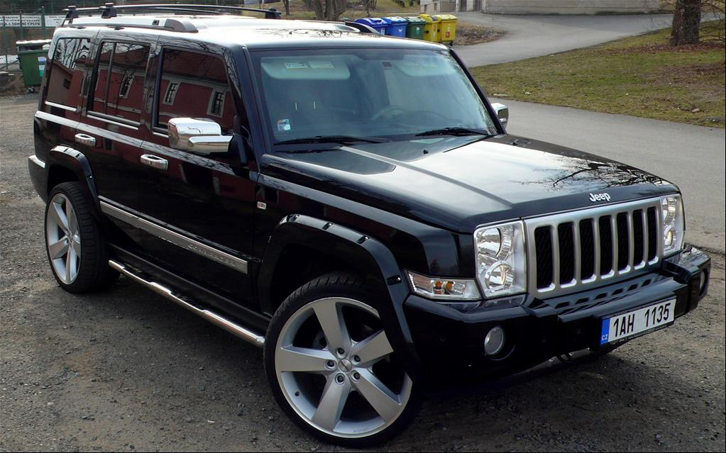 what do we know about the jeep commander. Black Bedroom Furniture Sets. Home Design Ideas
