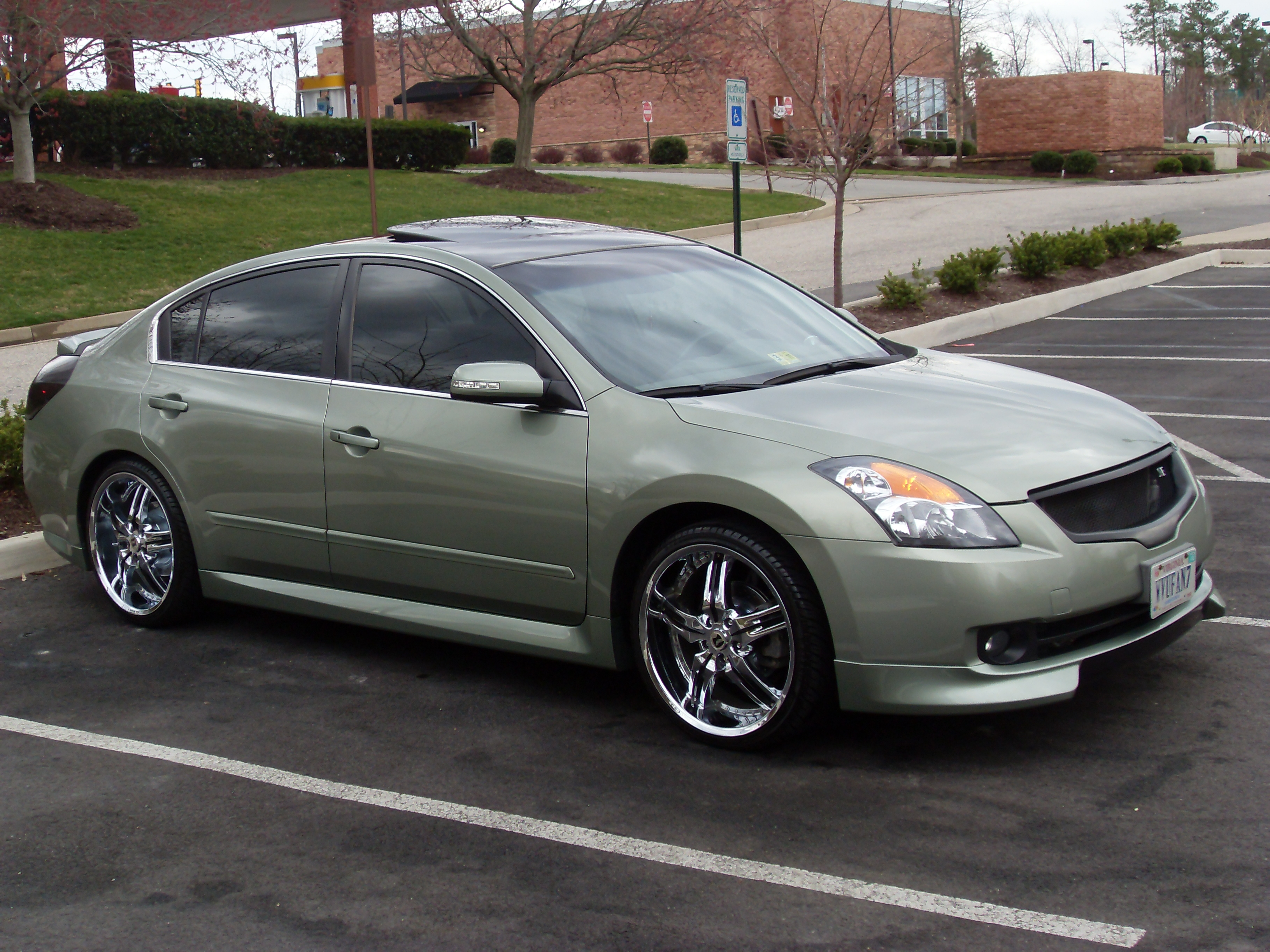 Another demoneyg6ers 2007 nissan altima post photo 14353302 before after vanachro Image collections