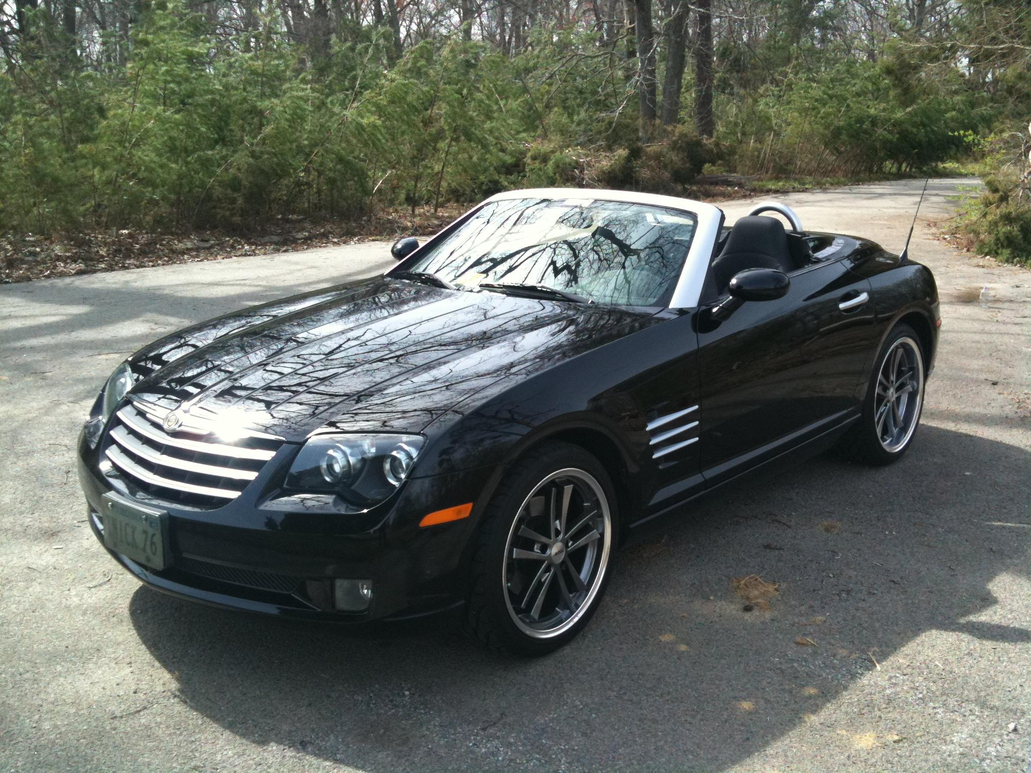 tnick76 2008 chrysler crossfirelimited roadster 2d specs photos modification info at cardomain. Black Bedroom Furniture Sets. Home Design Ideas