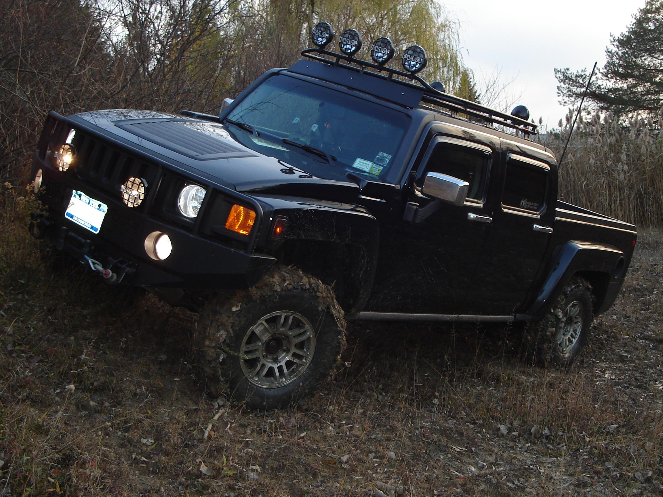 Lifted Hummer H3THummer H3t Lifted