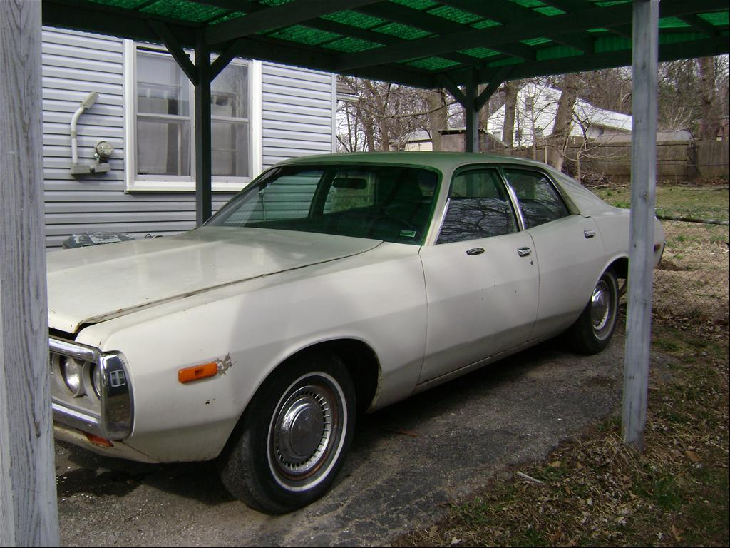 This is my 1972 Dodge Coronet
