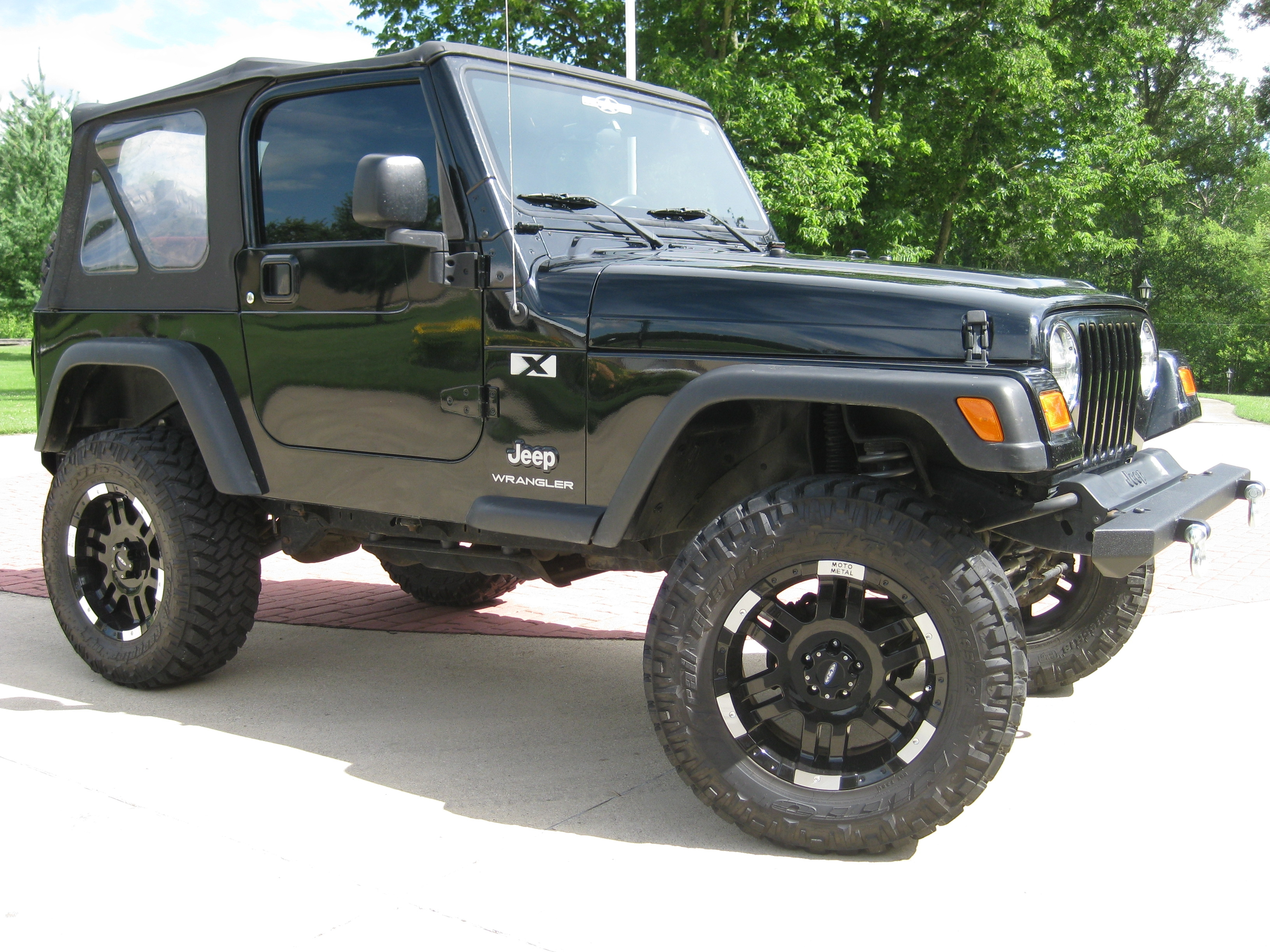 jeepgranger 2003 jeep wranglerx sport utility 2d specs photos modification info at cardomain. Black Bedroom Furniture Sets. Home Design Ideas