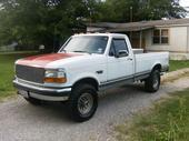 1995 Ford F250 Super Duty Regular Cab