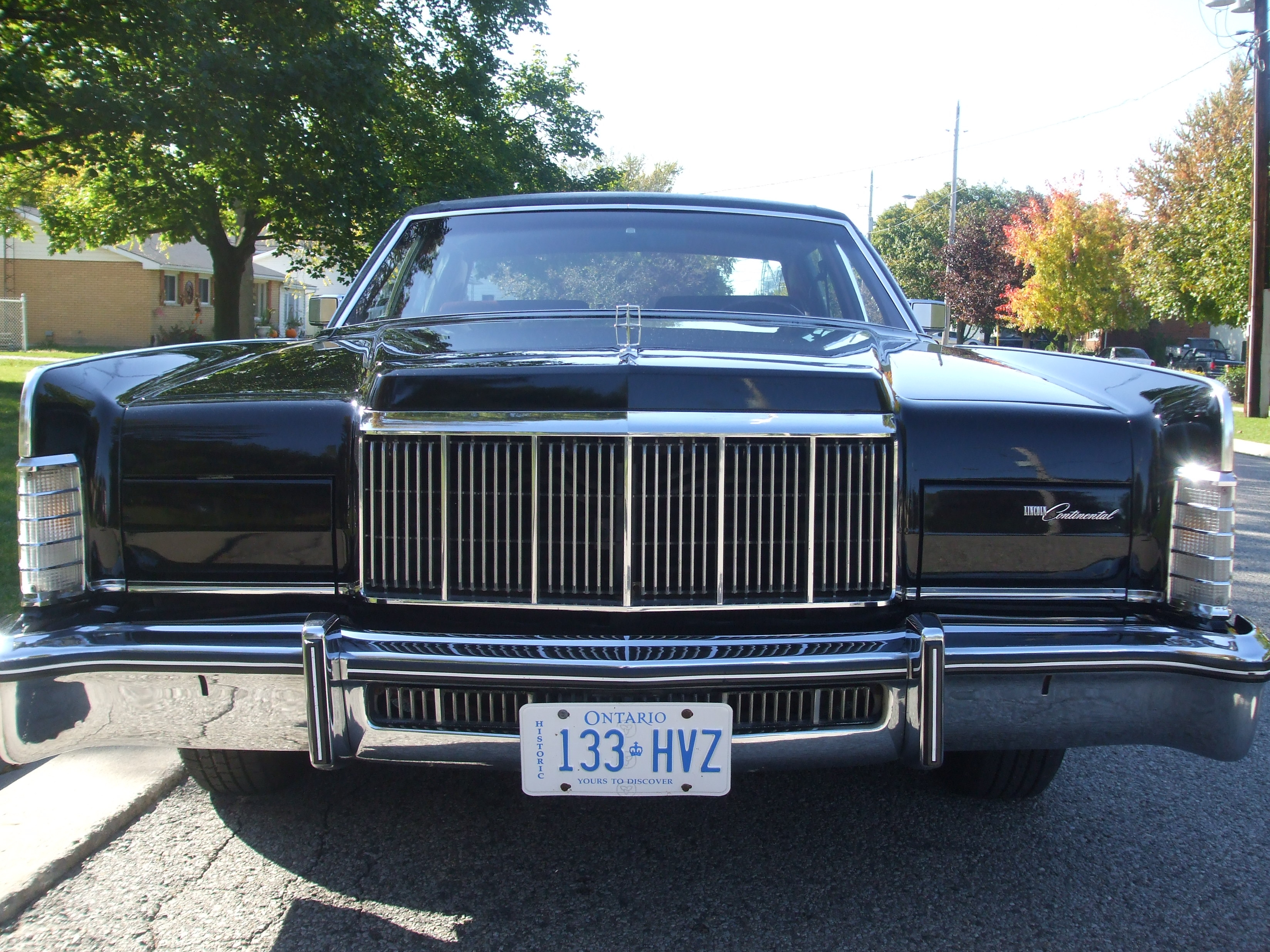 Bigkev76 1976 Lincoln Town Car Specs Photos Modification Info At