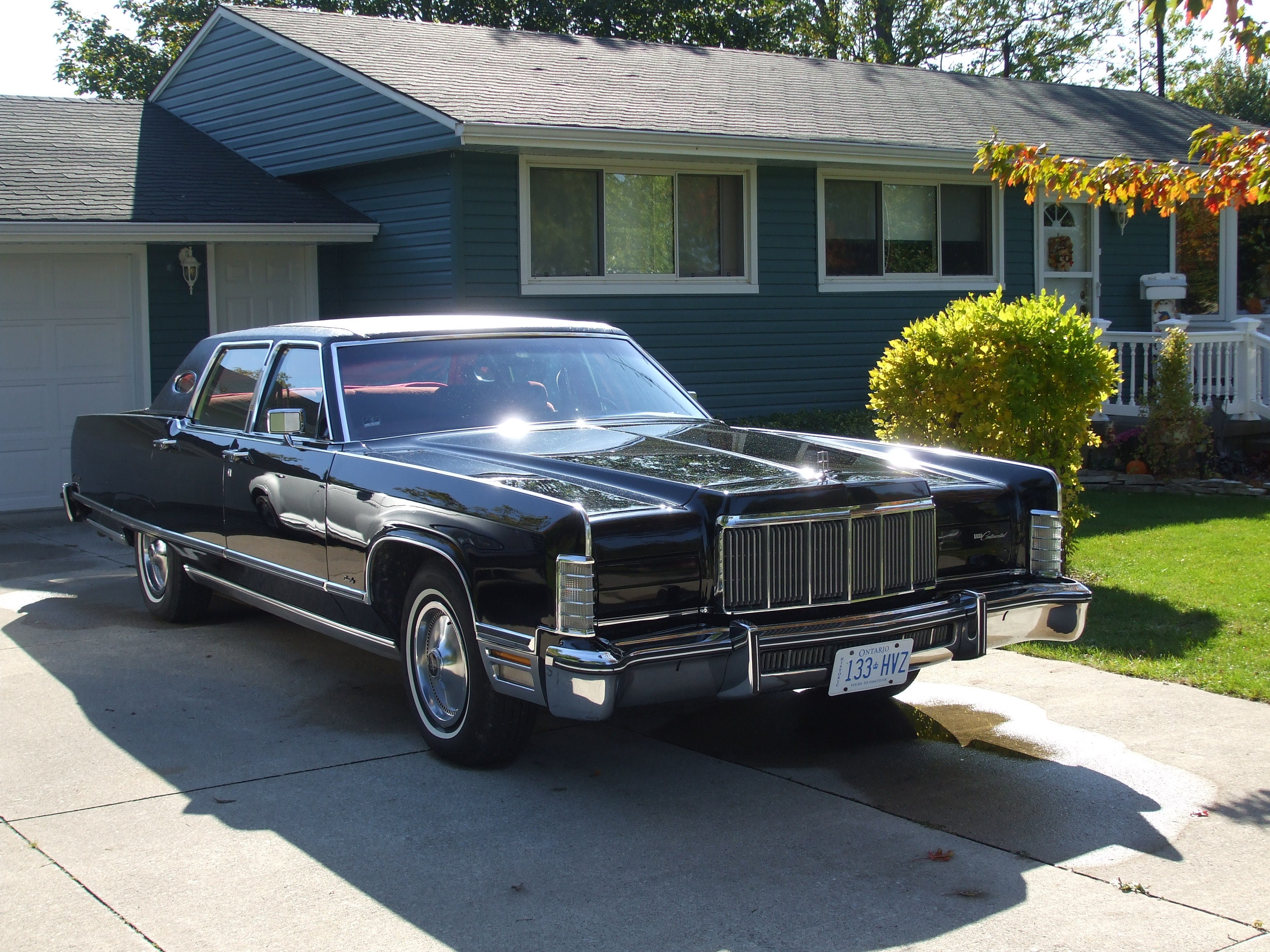 1976 Lincoln Continental Town Coupe Www Topsimages Com