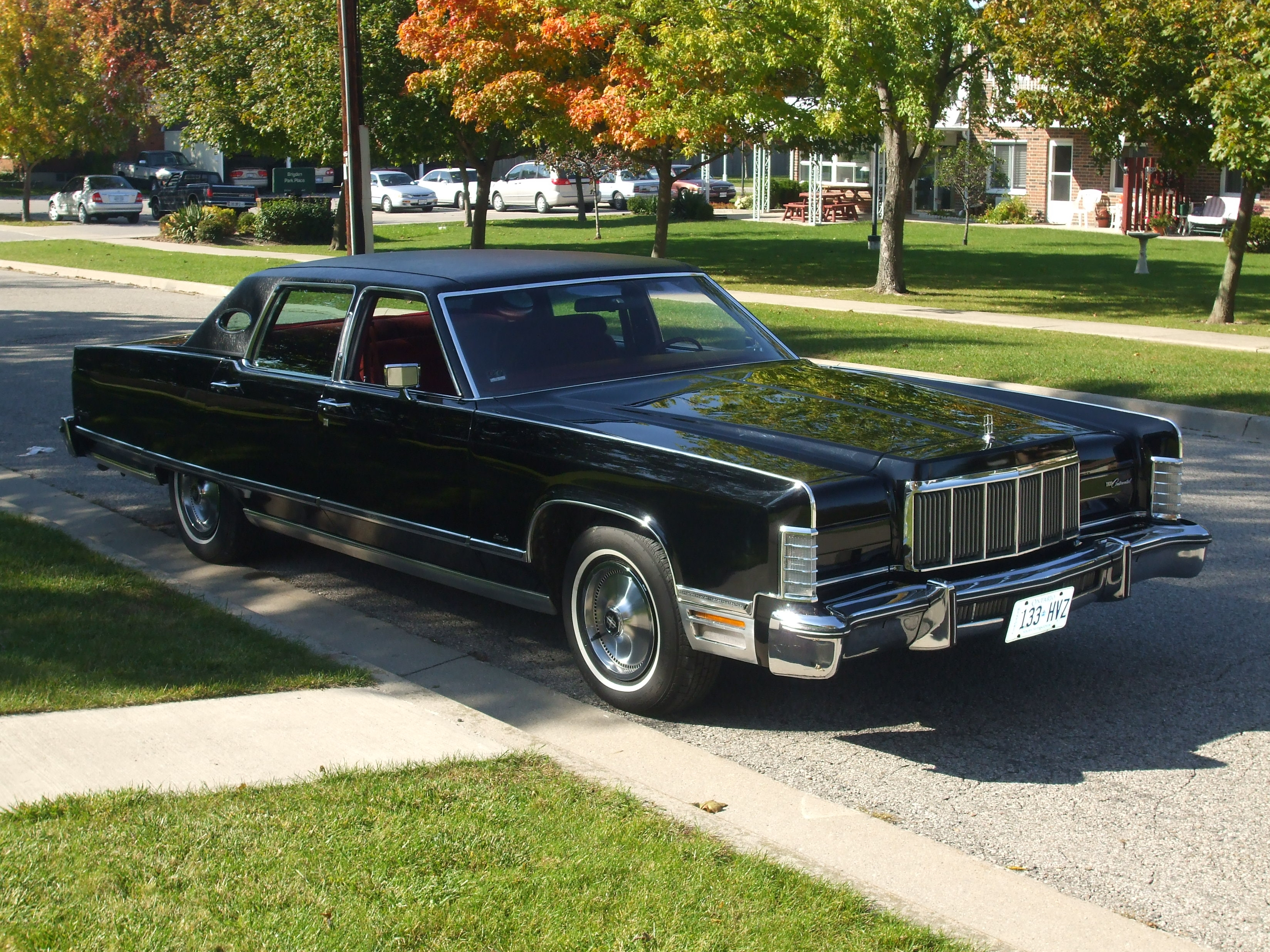 Bigkev76 1976 Lincoln Town Car Specs Photos Modification