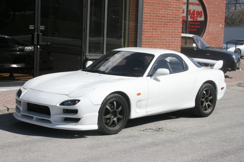 rightdrive 1993 Mazda RX-7