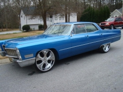 Gillieds 1967 Cadillac DeVille