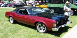 FINSCUSTOMS 1973 Mercury Cougar