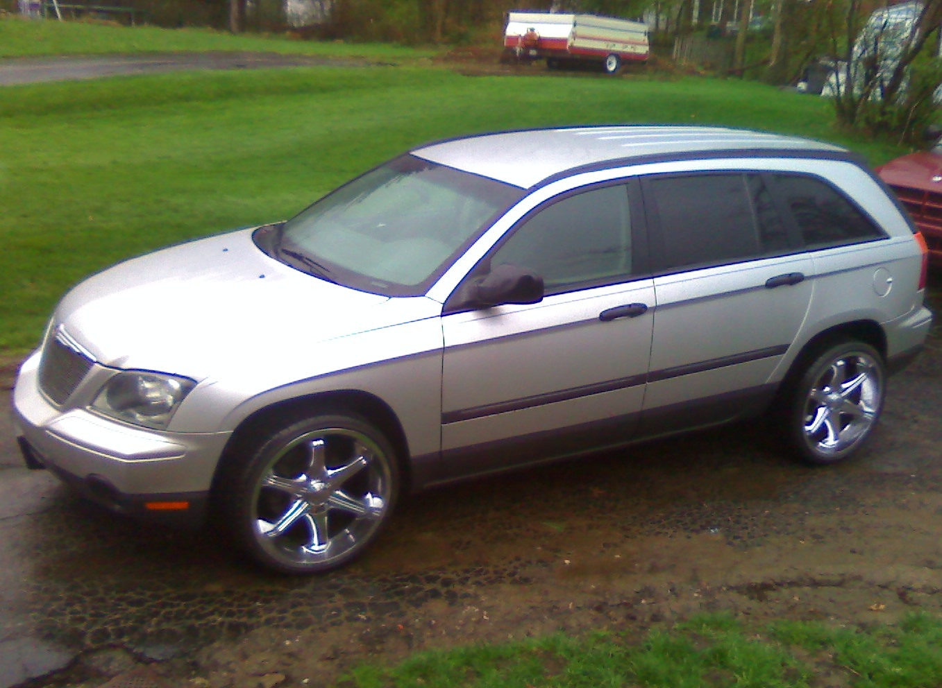 budjennings 2006 chrysler pacifica specs photos modification info at. Cars Review. Best American Auto & Cars Review