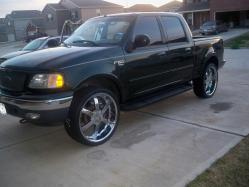 HTXCHASO 2001 Ford F150 SuperCrew Cab