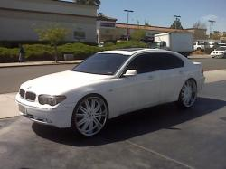 bmw745on26ss 2006 BMW 7 Series