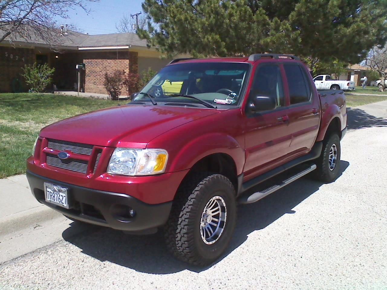 bustinout04chevy 39 s 2003 ford explorer sport trac in amarillo tx. Cars Review. Best American Auto & Cars Review