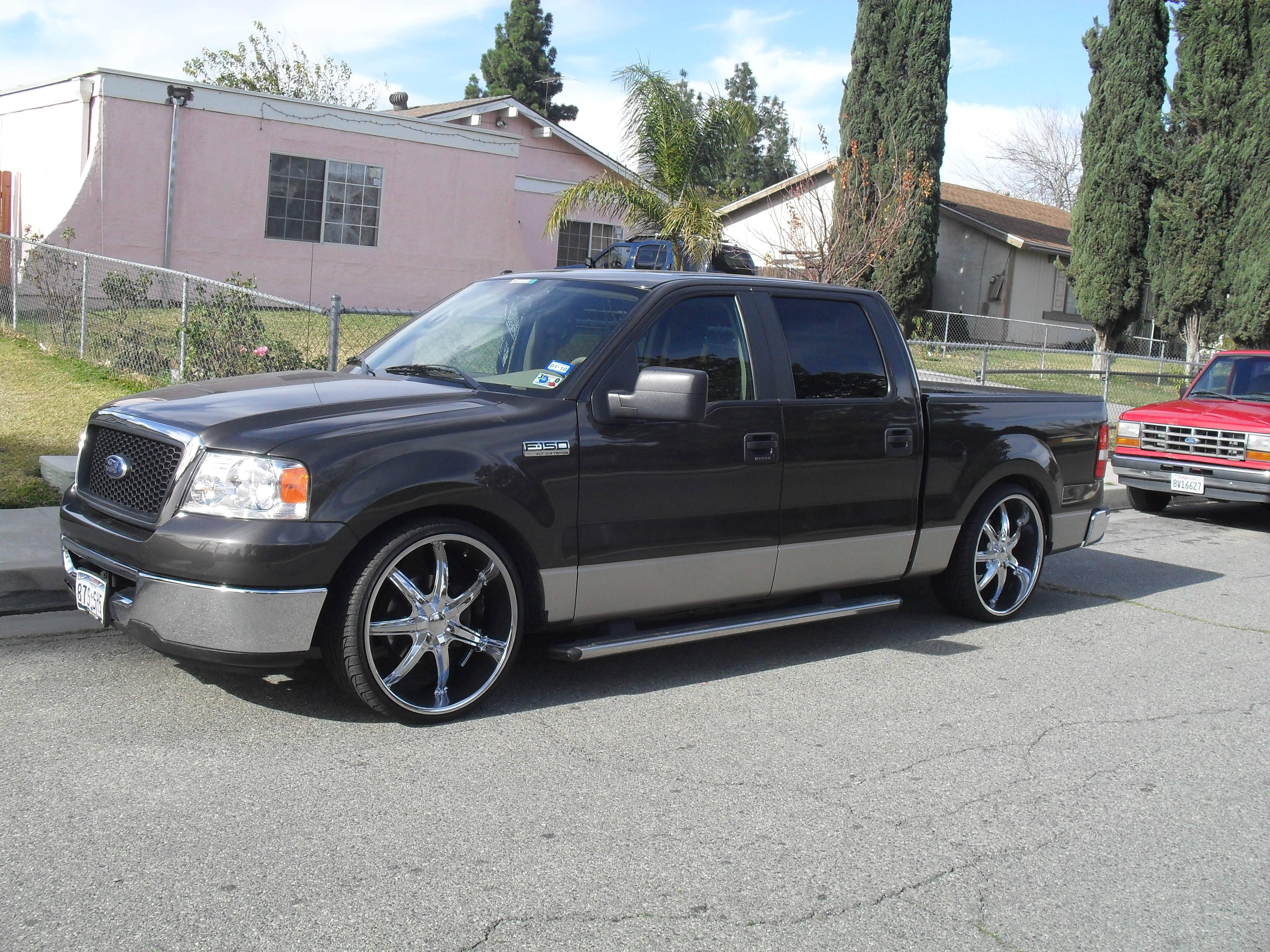 1234555 2007 ford f150 supercrew cab specs photos modification info at cardomain. Black Bedroom Furniture Sets. Home Design Ideas