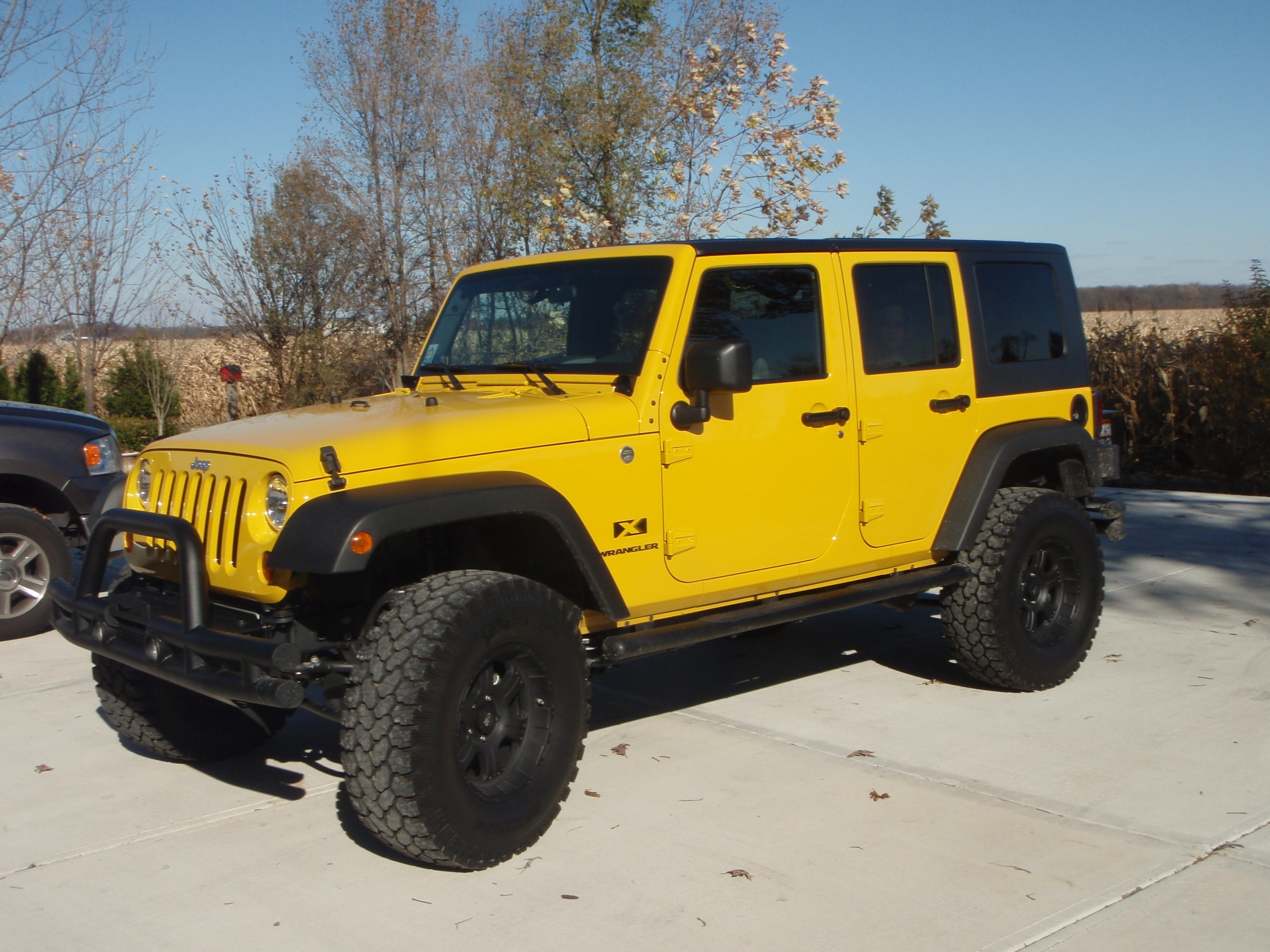 09 jeep wrangler unlimited x