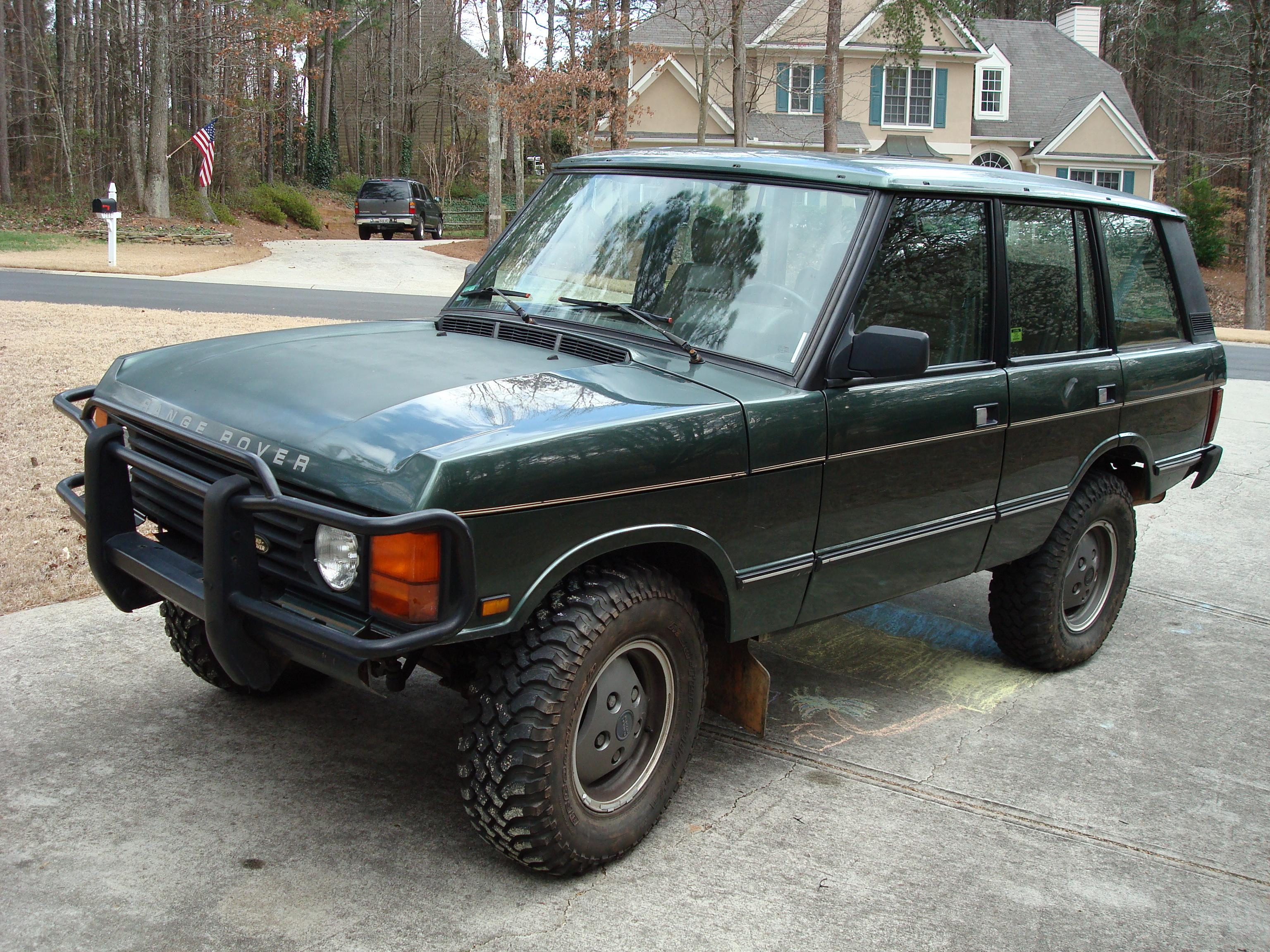 Another wardrw 1991 Land Rover Range Rover post... - 14391009