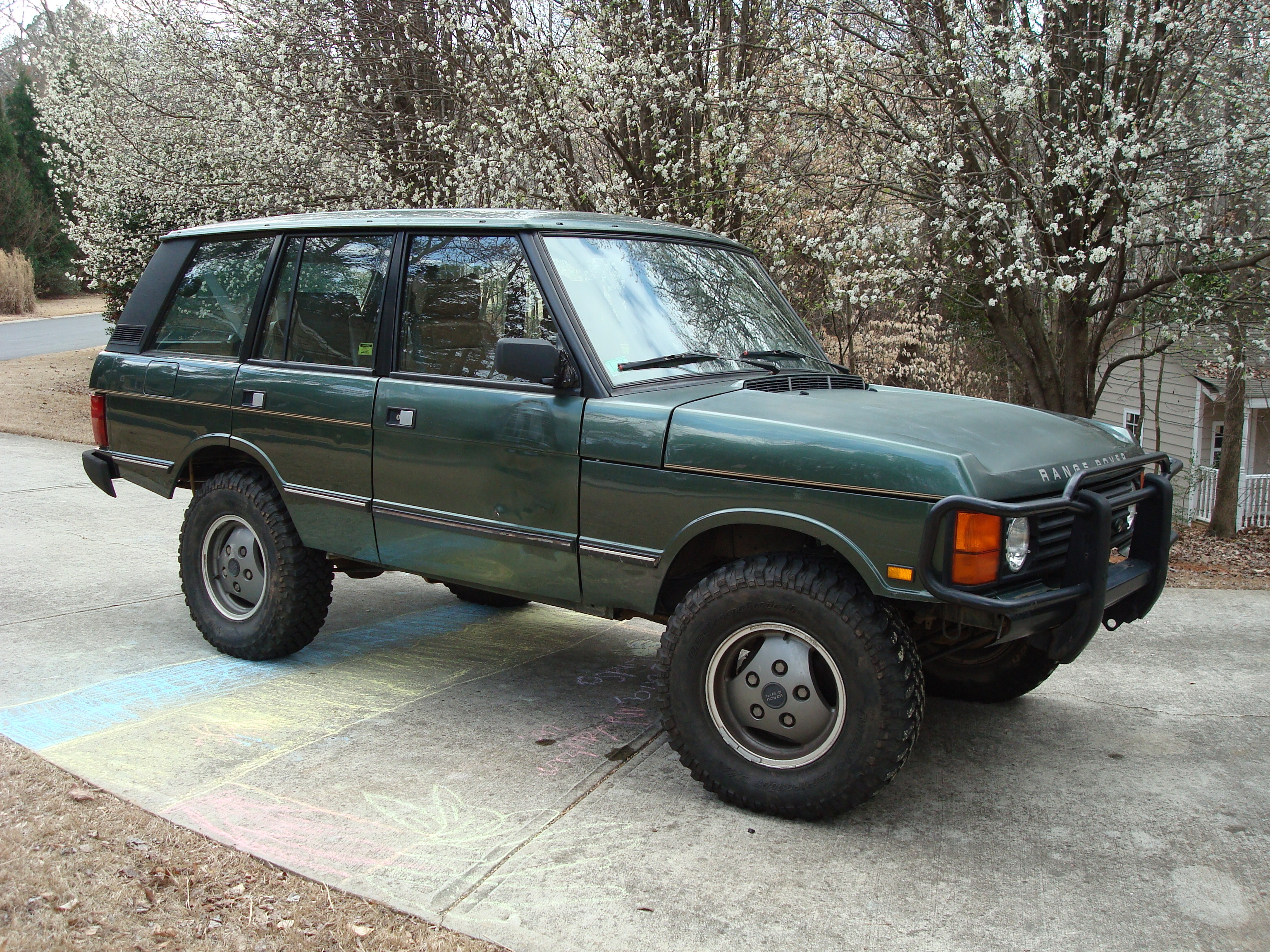 Another wardrw 1991 Land Rover Range Rover post... - 14391013