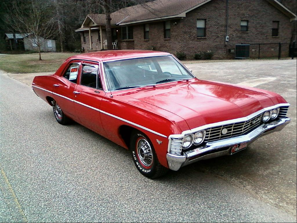 1967 chevrolet bel air