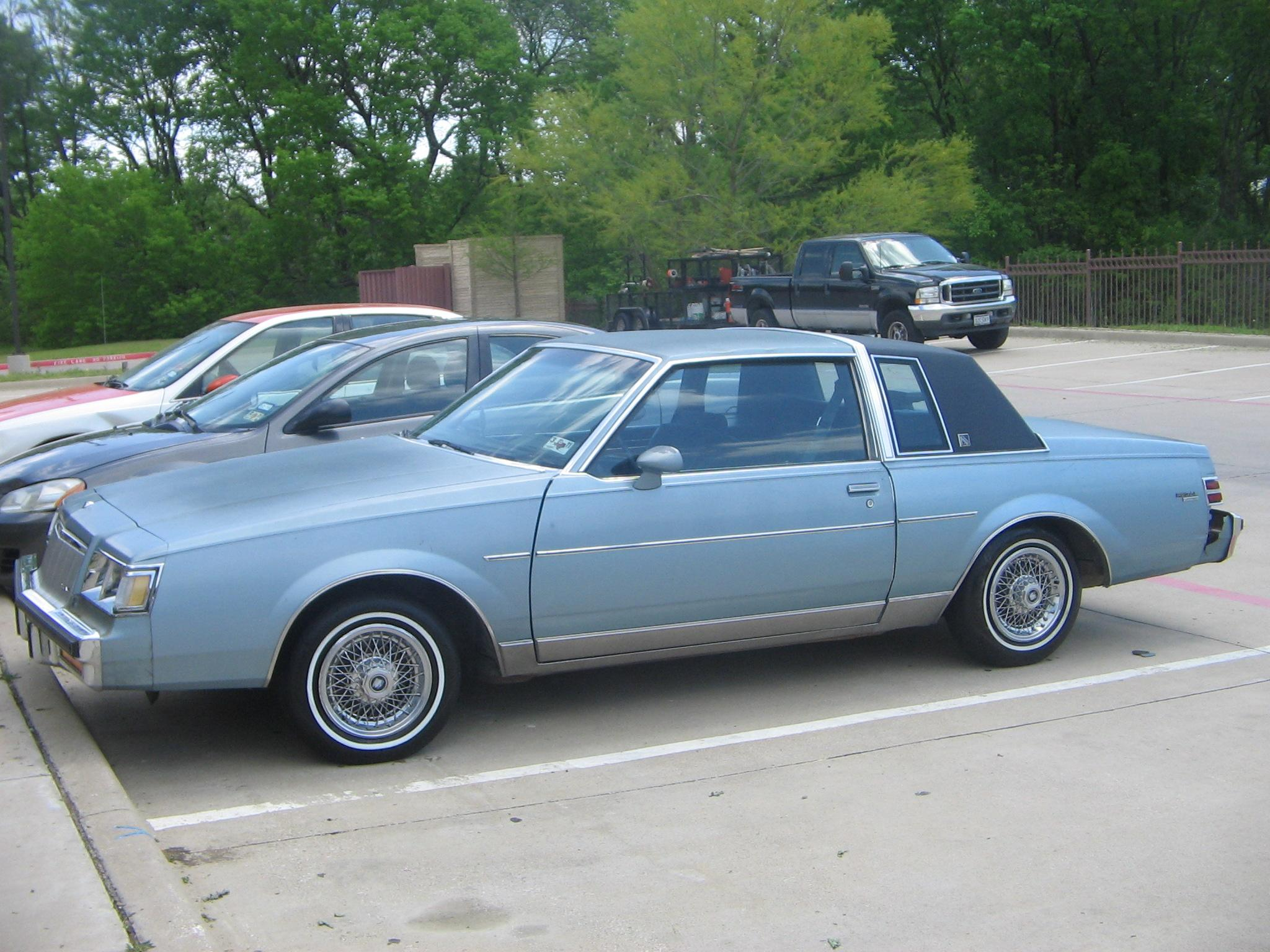 Blakking 1986 buick regal