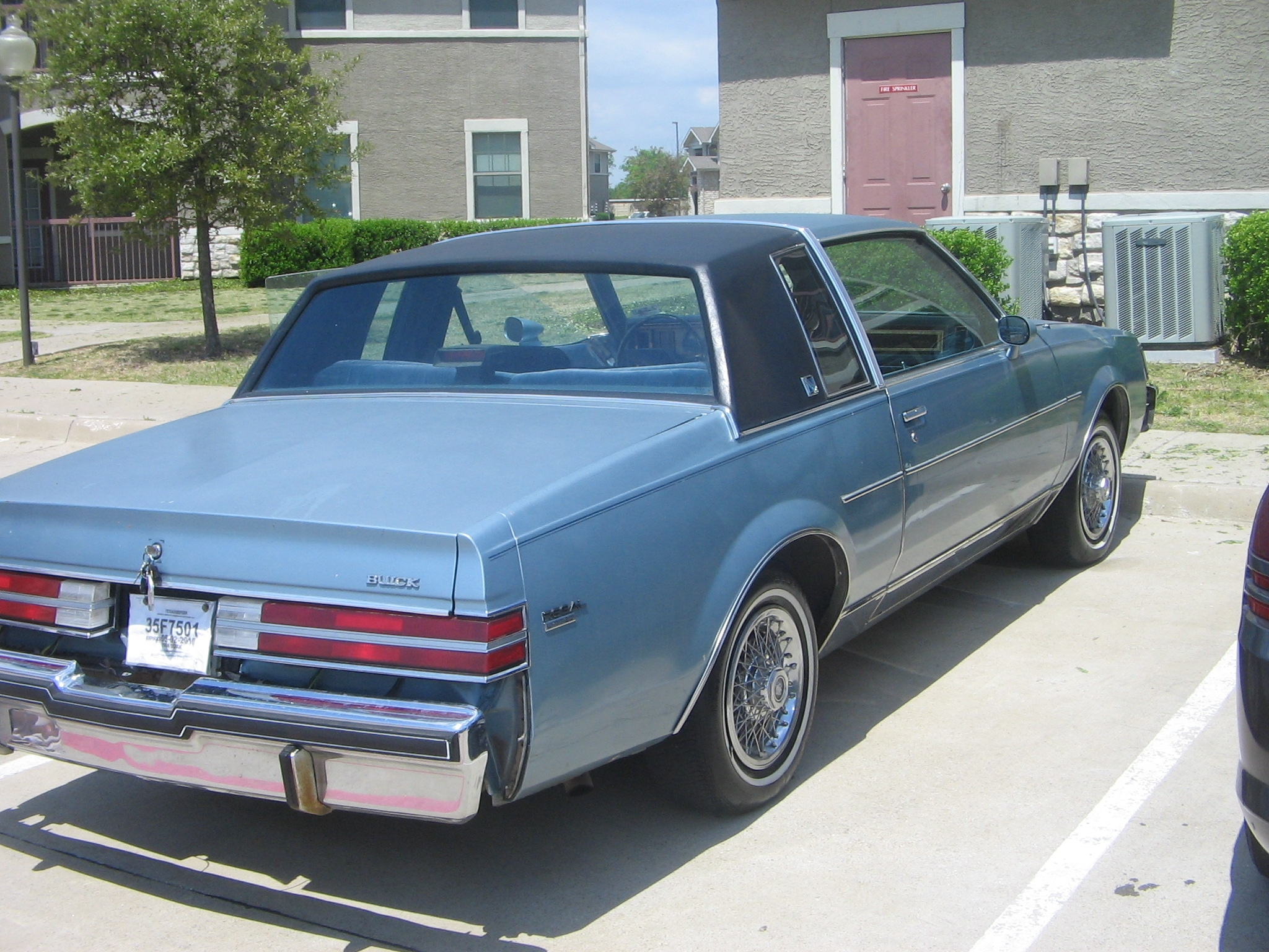 Another Blakking 1986 Buick Regal post... - 14397110